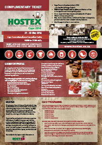 Hostex 2014 Complimentary Ticket